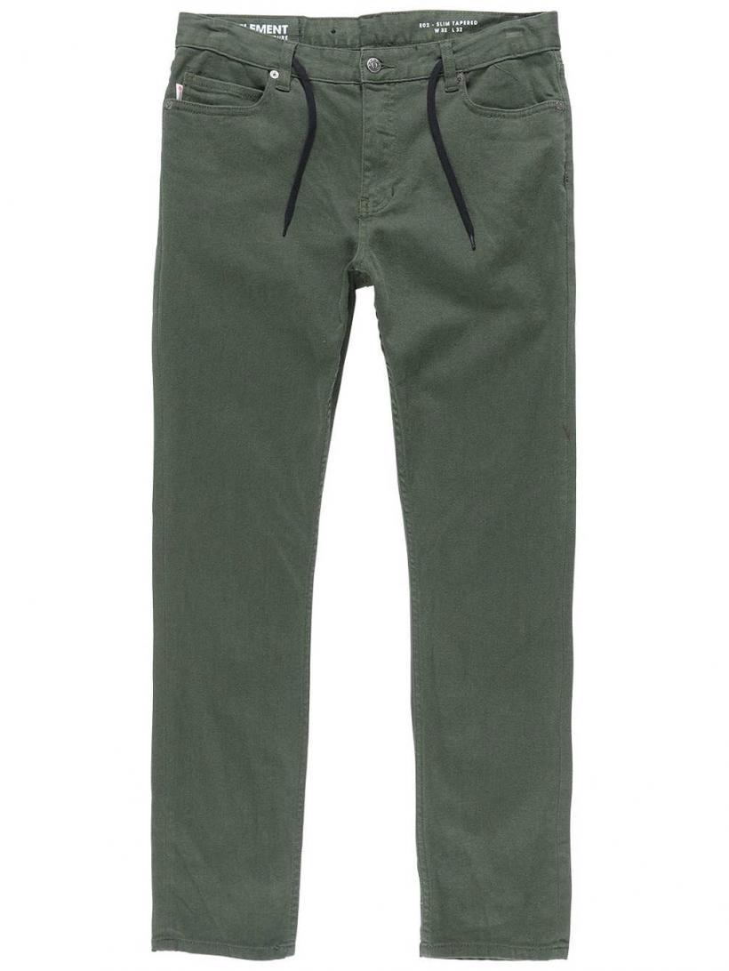 Element E02 Color Pants Olive Drab | Mens Chino Pants